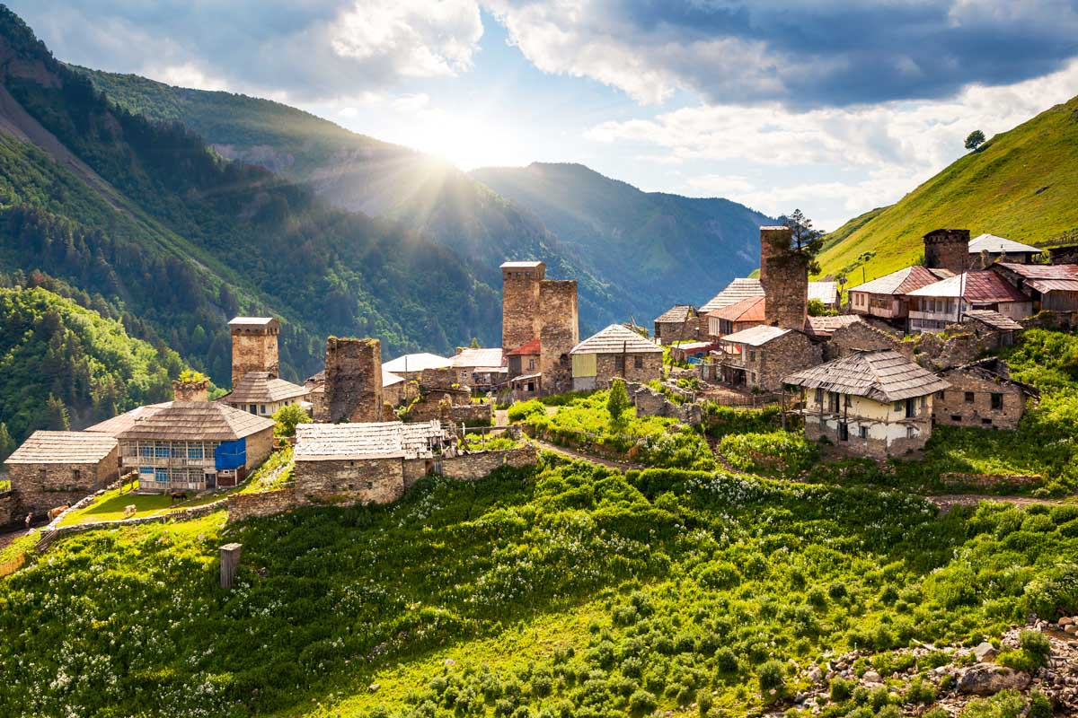 Грузия может открыться для туристов одной из первых